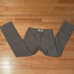 Levi's Boys Gray Skinny Jean